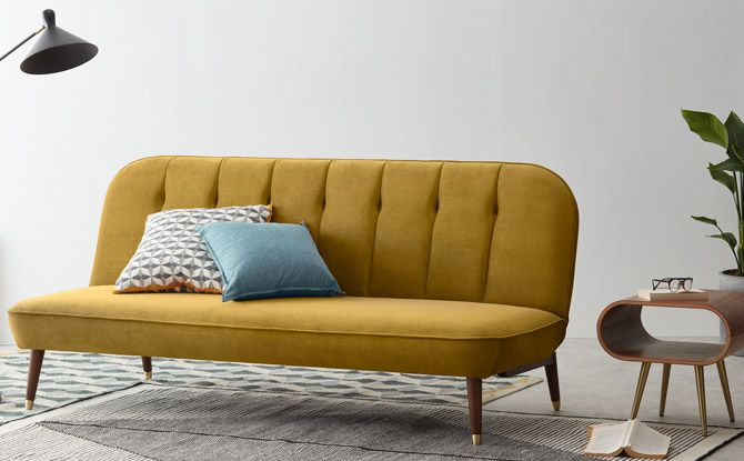 Margot Vintage Style Sofa Bed At Made