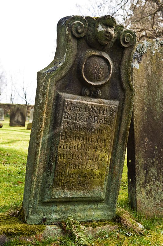 Interesting Gravestone @ Chillingham, Northumberland.