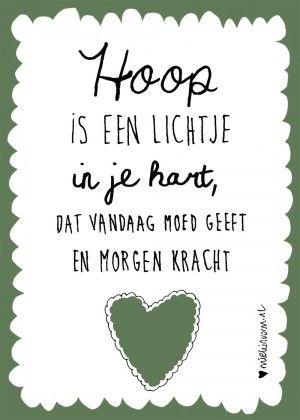 Hoop. Kijk ook op www.hooggevoeligheelgewoon.nl en www.facebook.nl/hooggevoeligheelgewoon