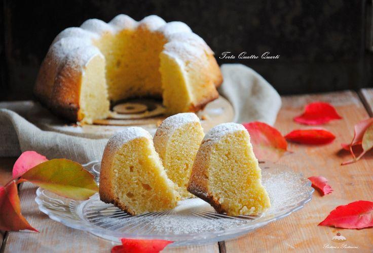 La Torta Quattro Quarti è una torta deliziosa e molto utilizzata sia come base da farcire che servita semplice per la colazione o la merenda.