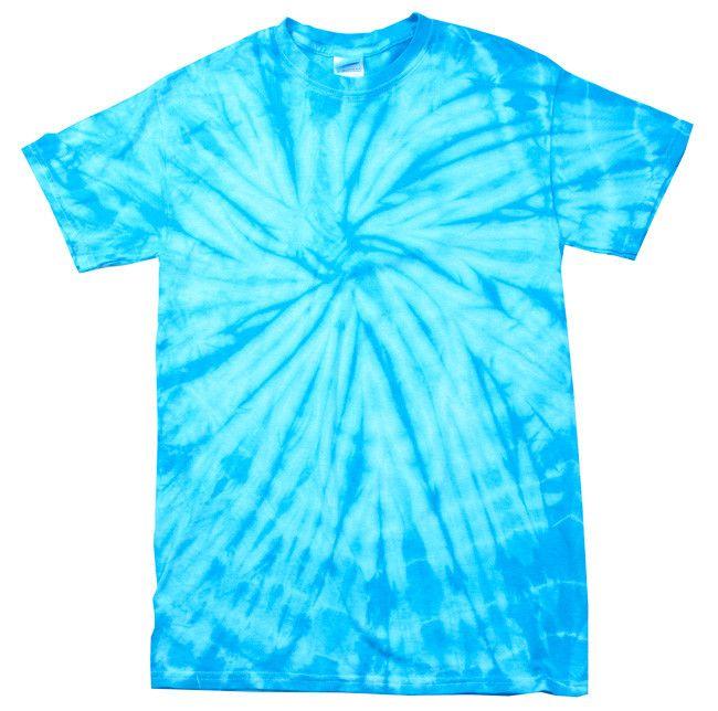 Spider baby Blue Tie Dye shirt