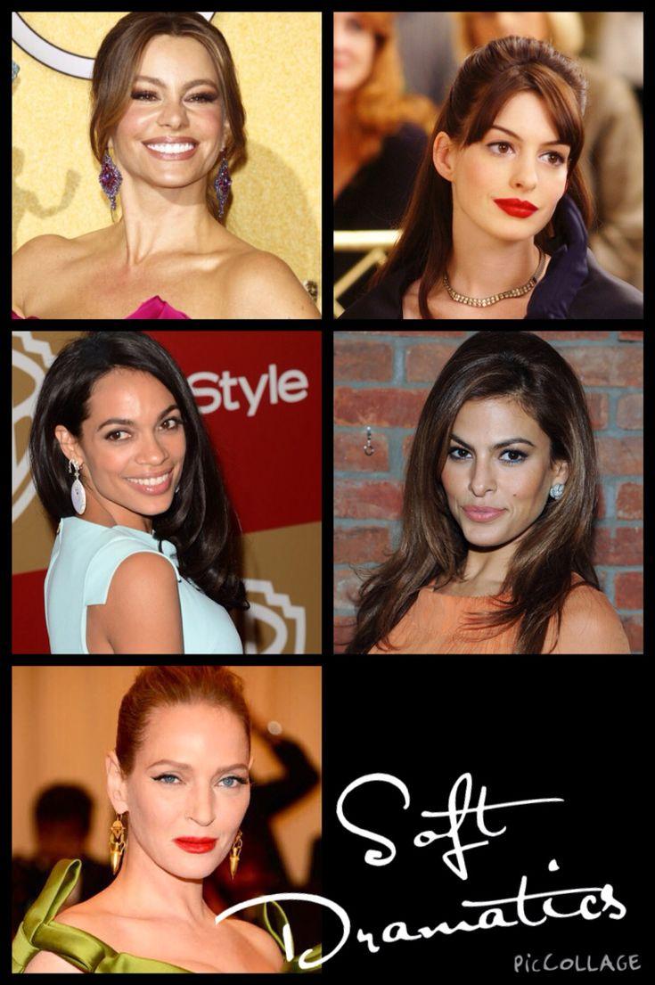 Kibbe•Soft Dramatics• Possibilities• Anne Hathaway•Eva Mendes•Rosario Dawson• Uma Thurman• Sofia Vegara