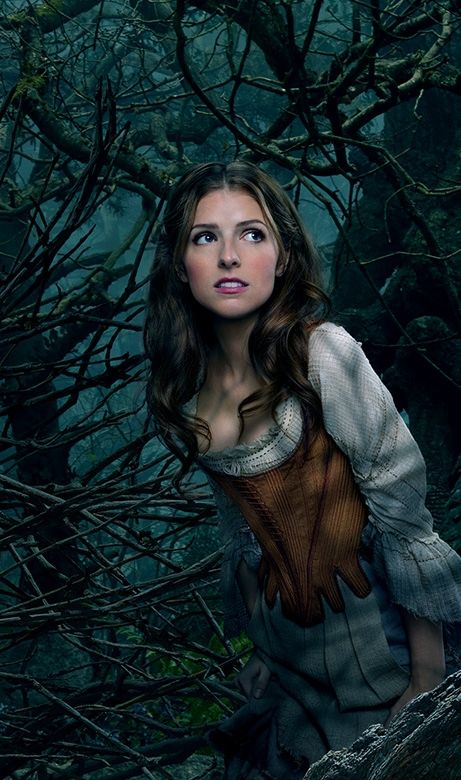 Anna Kendrick as Cinderella, in Disney's adaption of Into the Woods