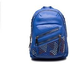 Marc Jacobs Women's Leather ¿pyt¿ Jewled Studded Backpack Blue.