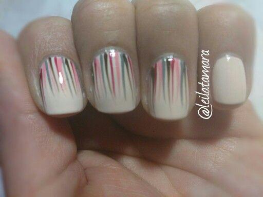 Manicure, nails art, color nude