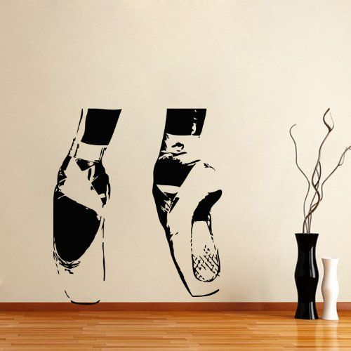 Housewares Vinyl Decal Ballerina Ballet Home Wall Art Decor Removable Stylish Sticker Mural Unique Design for Any Room Dance Studio Decal House,http://www.amazon.com/dp/B00EV2NPJ6/ref=cm_sw_r_pi_dp_3DuDsb0XFHFD9P37