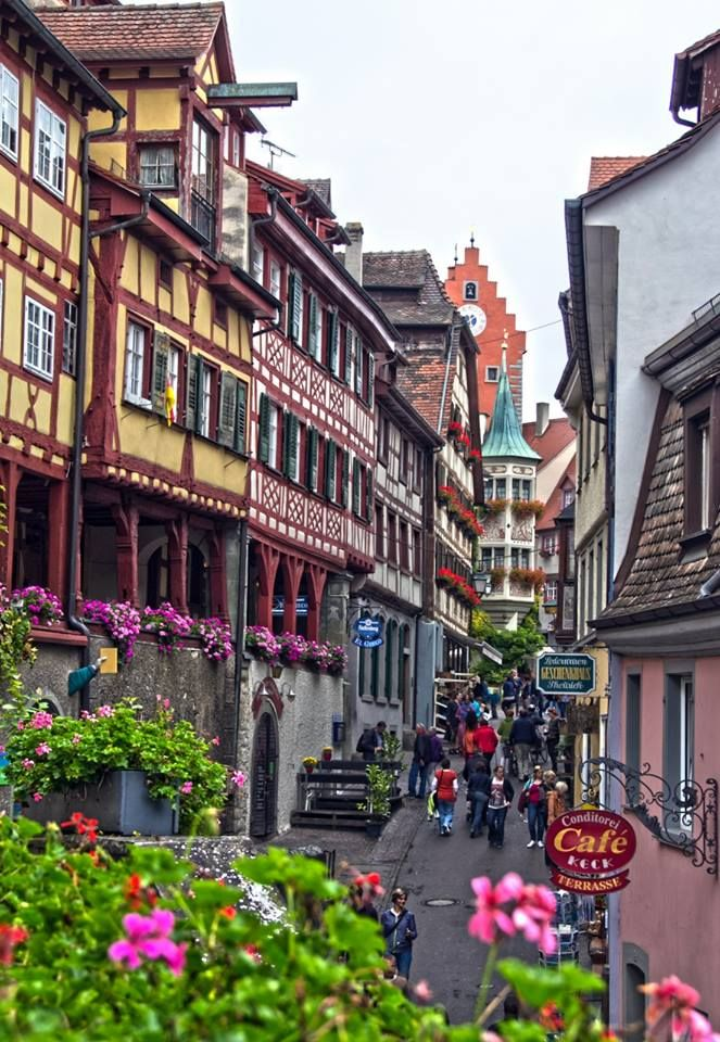 Meersburg, Friedrichshafen, Nice stop between Freiburg & Fussen / Neuschwanstein Castle