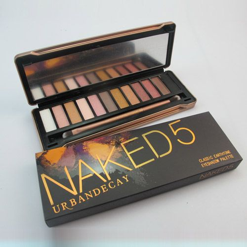 urban decay naked 5 classic earth tone eyeshadow palette . UD makeup at accessible prices.