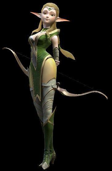 Dragon Nest Movie Warrior's Dawn Character Nerwin