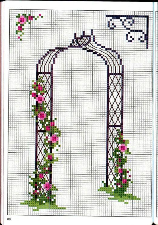 Gallery.ru / Фото #88 - Вышиваем крестом цветы, букеты, деревья - tymannost
