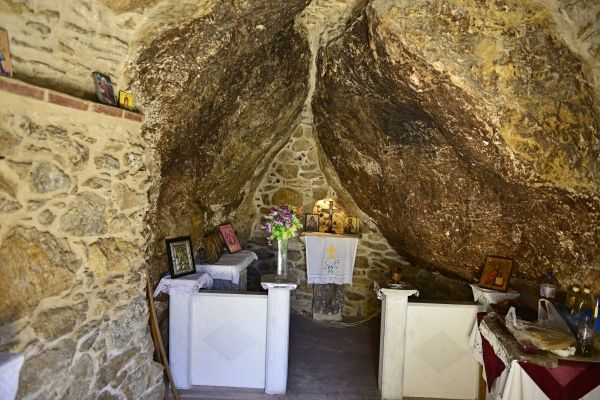 Church inside the cave