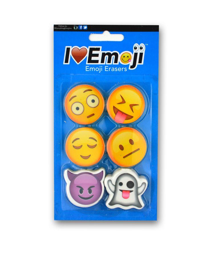 Emoji Eraser Pack (Set 3)