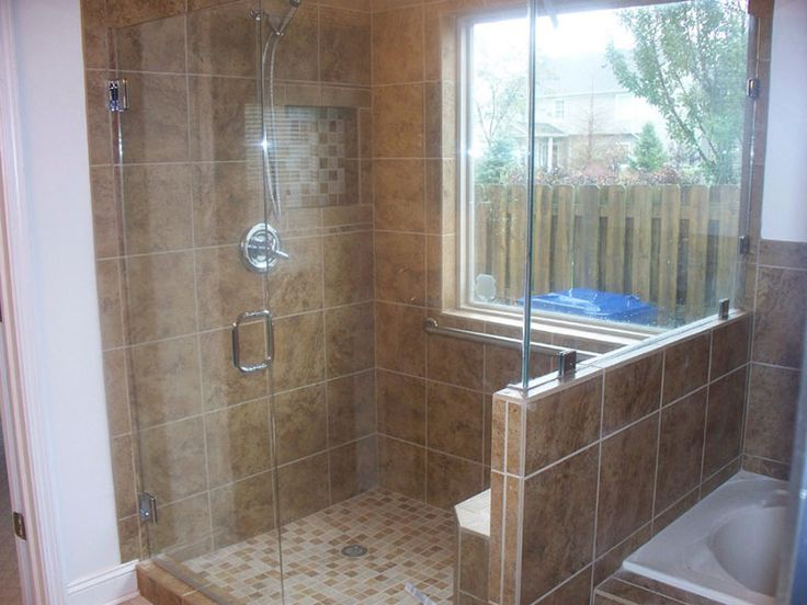 8 best images about id135 showers on pinterest for Custom bathroom design
