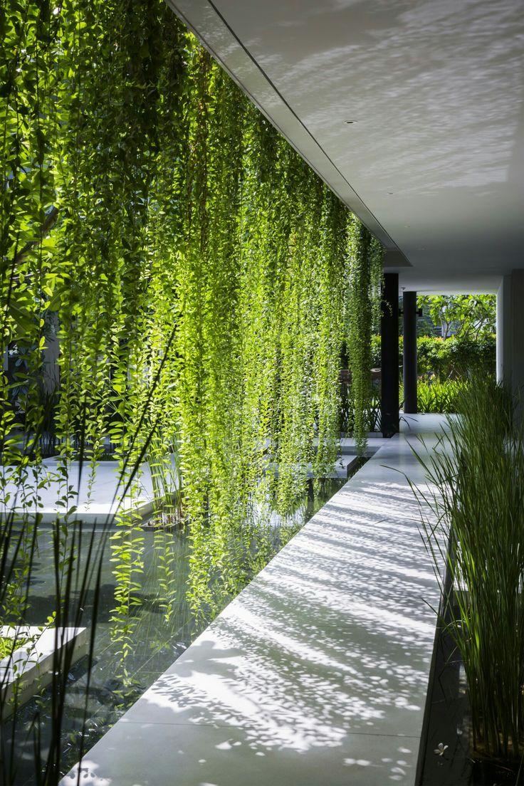 Cuando el verde realmente te refresca - Naman Spa / MIA Design Studio