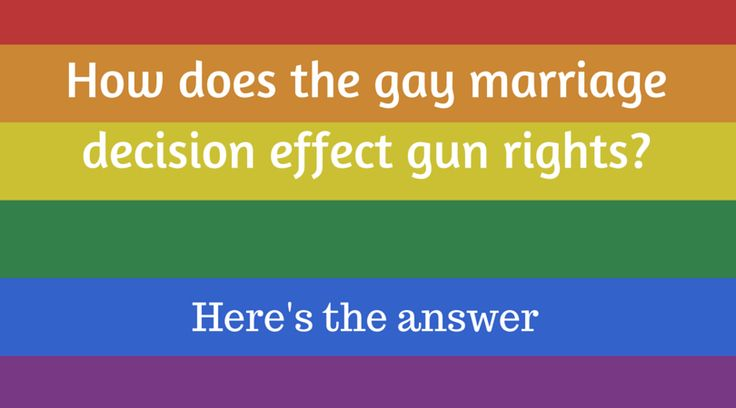Does the Supreme Court's Gay Marriage Ruling Set the Stage for Concealed Carry Reciprocity?