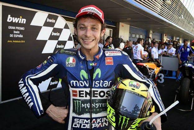 Blog Esportivo do Suiço: Rossi renova contrato com a Yamaha por mais dois anos