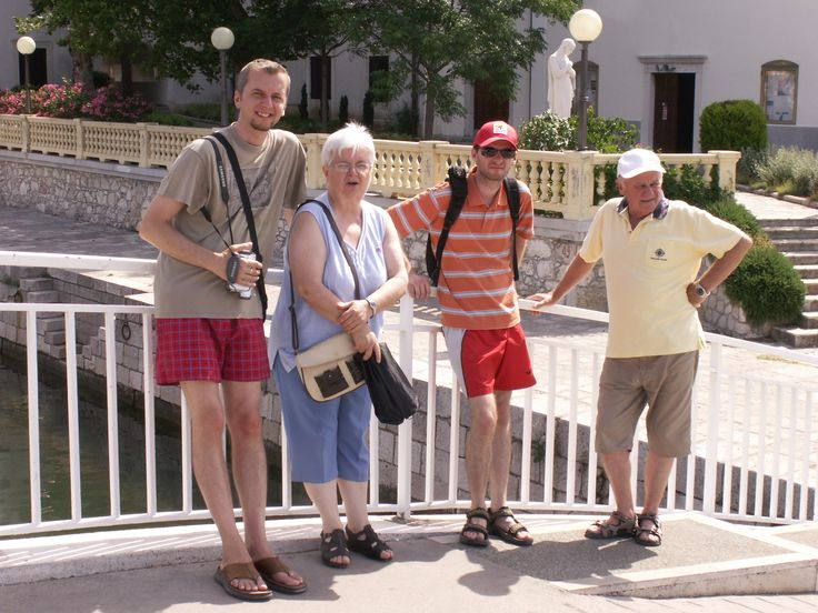 Our little family in Crikvenica - Croatia.