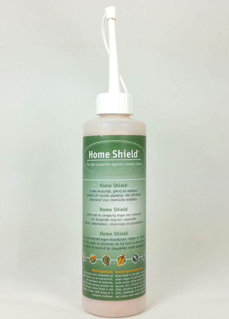 Home Shield het alternatief voor giftige bestrijding tegen kruipende insecten zoals zilvervisjes, papiervisjes, mieren, bloedluis, vlooien en pissebedden