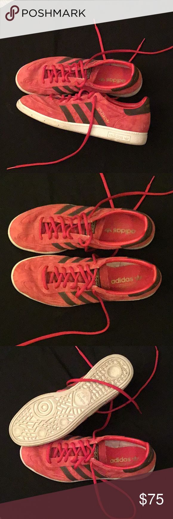 Adidas Handball Spezial Size 11 Shoes sneakers Adidas Shoes Size 11. Worn once casually- in almost new condition!!!  No stain, rips or tears!  Stylish and comfortable. adidas Shoes Sneakers