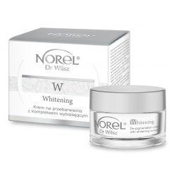 Norel Whitening - Krem na przebarwienia z kompleksem wybielającym 50ml