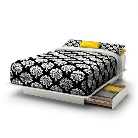 """""""Visit Walmart.ca for South Shore SoHo Storage Queen Platform Bed, Pure Black and our selection of Home items at Walmart.ca """""""