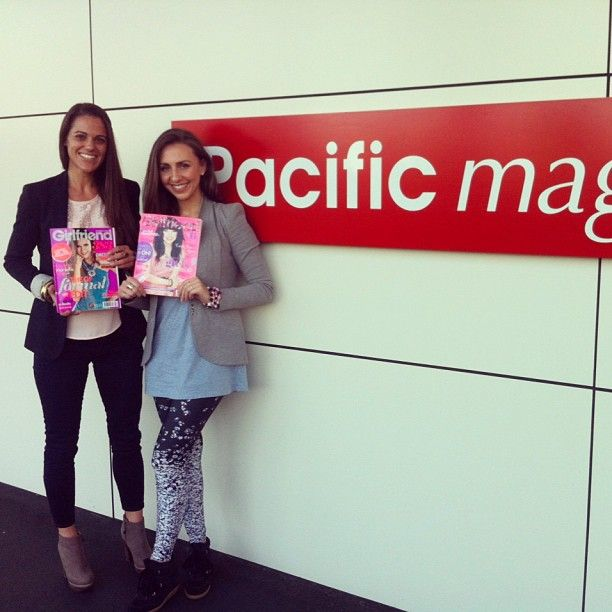 Mia and Sophia visited Girlfriend mag to talk about our exciting #oneforethegirls project!