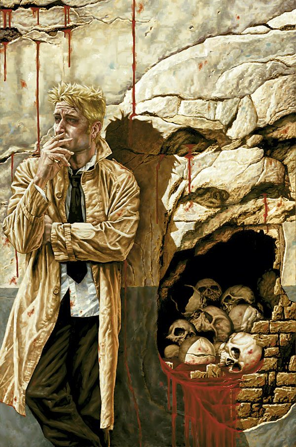 John Constantine: HELLBLAZER #223 Cover by Lee Bermejo