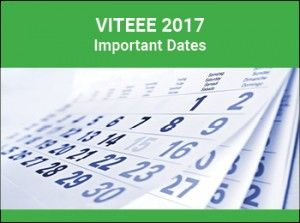 VITEEE 2017 Important Dates are announced by the VIT University.VITEEE 2017 Application form released November 9,.last date of Application form of VITEEE 2017 February.  VITEEE 2017 will be conducted on April 5 to 16, 2017. We have provided here the important dates of application form, online slot booking will be declared tentatively on or before April 24, 2017.