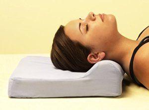 "Amazon.com: Cerv Ease Pillow Cervical Neck Support Pillow 11"" x 14"": Bedding & Bath"