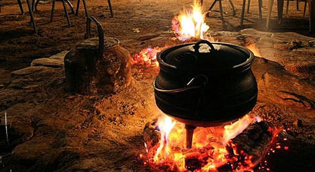 South African Beef and Vegetable Potjie