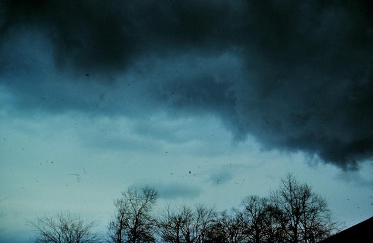 Nimbostratus cloud.