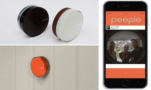 Caller ID for your front door: Peeple sends peephole video to phones