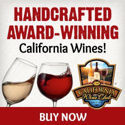 The California Wine Club subscription sends hand-selected, award-winning wines to suit all tastes.
