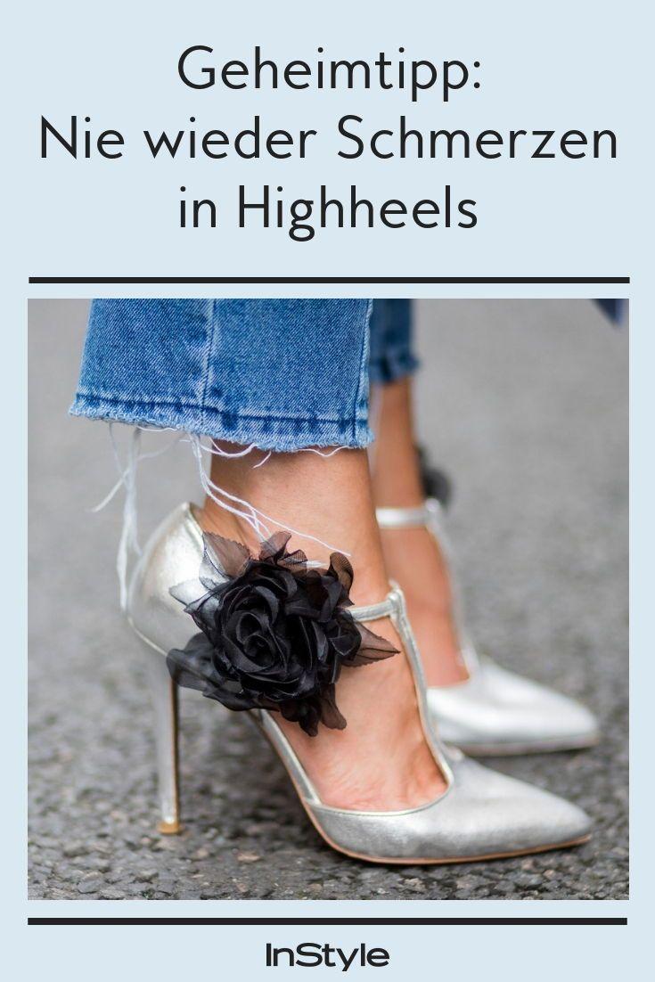 Genialer Geheimtipp Mit Diesem Einfachen Trick Hast Du Nie Wieder Schmerzen In High Heels Stockelschuhe Hochhackige Schuhe Schuhe Frauen