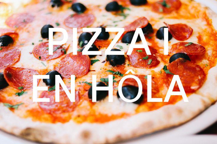 Pizza i en höla, vad är det!? Jo! Åk till en närliggande höla med hela tonårsgänget och leta reda på den där lilla pizzerian. Gå in, beställ och ät. Så enkelt är det!