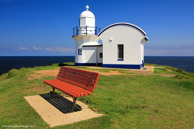 Tacking Point Lighthouse, (Built 1879) Port Macquarie, Mid North Coast, NSW, Australia