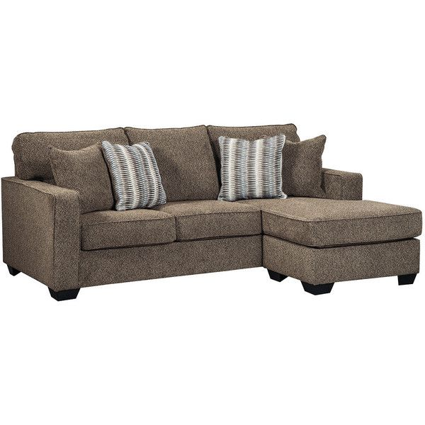 Ladale Sofa Chaise | Ashley Furniture HomeStore ($698) ❤ liked on Polyvore featuring home, furniture, chairs and accent chairs