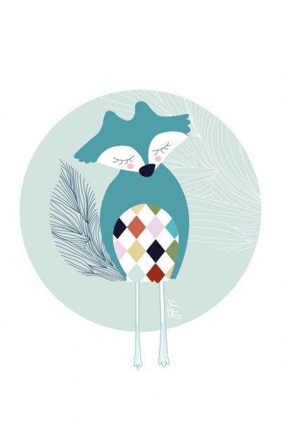 Illustration Pierrot le renard