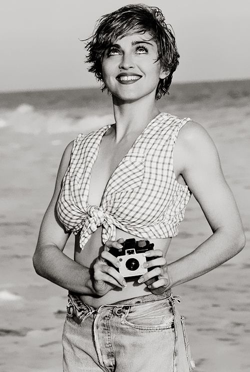 Beach babe 1989 by Herb Ritts. #LikeAPrayer25