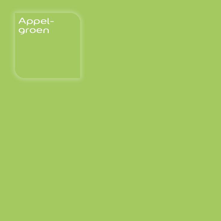 Flexa Strak op de Muur/Strak in de Lak kleur: Appelgroen. Klik op de foto om een Flexa Kleurstaal te bestellen.     #kleur #kleuradvies #interieur #kleurstaal #kleurtester #decoratie #color #colorsample #coloradvice #interior #decoration #apple #appel #appelgroen #green #groen