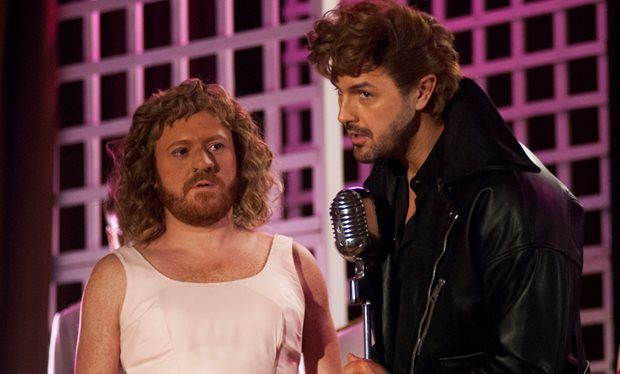 Keith Lemon and Paddy McGuinness on filming sex scenes together and convincing Ant and Dec to play Ewoks