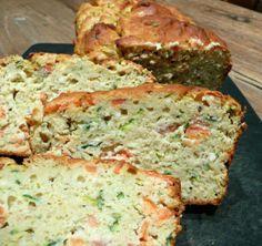 Cake saumon courgette (IG bas)