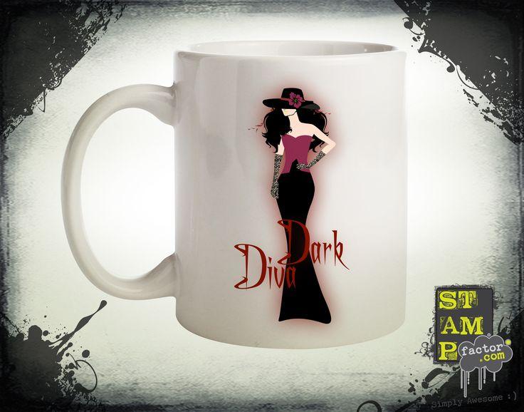 Dark Diva (Version 05) 2014 Collection - © stampfactor.com *MUG PREVIEW*
