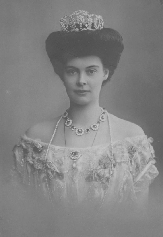 Cecilie of Mecklenburg-Schwerin Crown Princess of Germany and Prussia married Crown Prince Wilhelm, son of Kaiser Wilhelm II