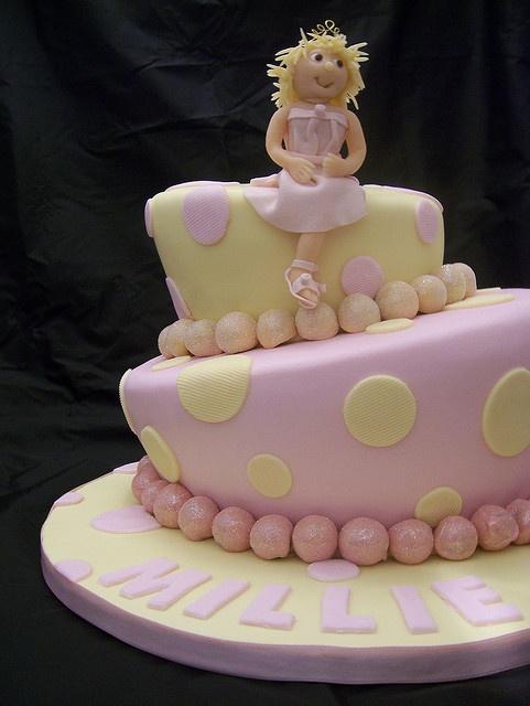 Wonky / Whimsical Birthday Cake