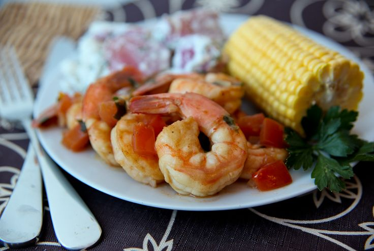 Barbecued Shrimp Scampi