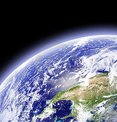 Earth In Outer Space - Download From Over 25 Million High Quality Stock Photos, Images, Vectors. Sign up for FREE today. Image: 2852544