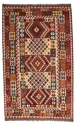 kilim - Kilim Afegão 243x150 cm.