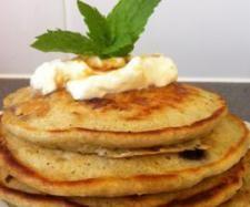 Apple & Blueberry Pancakes