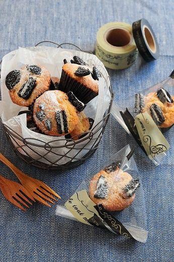 「オレオマフィン」marimo | お菓子・パンのレシピや作り方【corecle*コレクル】